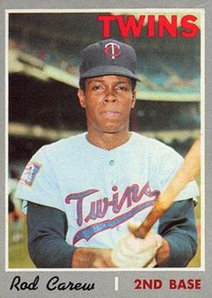 Get 1970 Topps Regular (Baseball) Card# 290 Rod Carew of the Minnesota Twins VG Condition at fishingshopnow Baseball Card Values, Old Baseball Cards, Baseball Star, Better Baseball, Baseball Photos, Baseball Games, Baseball Players, Football, American Baseball League