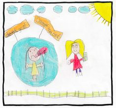 Angelina, age 7 Q: How do you feel when adults are distracted by their phones? A: Sad because a child could fall in the water #turnofftunein #childsafetyweek #distractionisdangerous