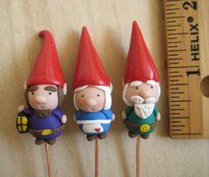 Sale Three Tiny Gnomes