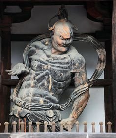 Deva King Houryu-ji #japan #nara