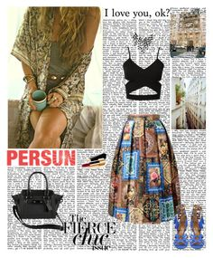 """""""Persun 7"""" by antonija2807 ❤ liked on Polyvore featuring moda, Chanel y persunmall"""