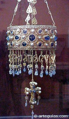 Corona de Recesvinto Visigodos en España
