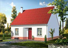 Modèle FOEHN   Pavillon comprenant cuisine, séjour, salle de bains, WC au rez-de-chaussée. 2 chambres à l'étage.   Surface habitable : 72,21m².