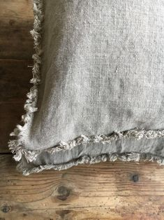Set of Two Natural Linen Pillowcases with Frayed Edges Frayed Pillowcases Country Linen Pillowcases Sham Queen King Standard Rustic Bed Linen Sets, Linen Duvet, Linen Pillows, Bed Linens, Cushions, Neutral Bed Linen, Black Bed Linen, Neutral Bedding, Best Bedding Sets
