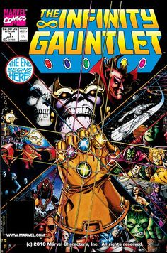 The Infinity Gauntlet (TPB) (28.09.2011) // It's the Avengers, the New Warriors, the X-Men and more against the omnipotent Eternal, Thanos! The Mad Titan has become the most powerful being in the universe, and enslavement or destruction may be the only choices he gives it! The successive Starlin sagas that shook space and time start here! #infinity #gauntlet #marvel #comics
