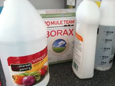 Green clean -CHEAP!!!! 1 tablespoon borax 3 tablespoon vinager 2 cups water 1 tablespoon dish soap (I use free an clear 7the generation)  Mix together and put into spray bottle!  Great for kitchens and bathrooms!