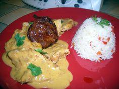 Recette Blancs de poulet sauce chorizo par MARIEBEL - recette de la catégorie Viandes
