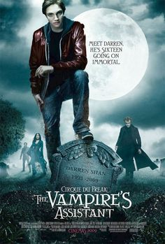 ★★★★Cirque du Freak: The Vampire's Assistant (2009) Fantasy, Darren Shan (Chris Massoglia) is een gewone schooljongen, tot hij de Grote Freakshow bezoekt. Daar komt hij terecht in een bizarre wereld van vampiers, weerwolven, monsters en bebaarde vrouwen. Maar zal Darren het terrein weer kunnen verlaten of moet hij zich bij het gezelschap voegen...