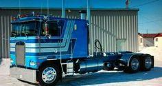 Nice cab over Kenworth Show Trucks, Big Rig Trucks, Dump Trucks, Old Trucks, Custom Big Rigs, Custom Trucks, Trailers, Super Images, Vanz