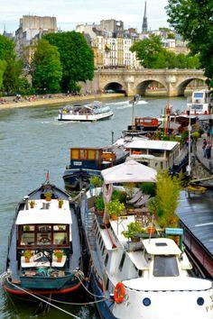 Jardins sur. Seine… byJ'aime Paris!