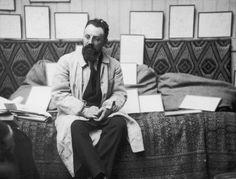 May 1913: Henri Matisse in his studio by Alvin Langdon Coburn/George Eastman House/Getty Images