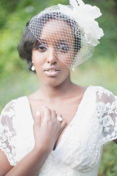 vintage bride. #wedding #fashion