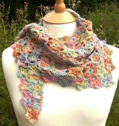 POSY Crochet Shawl $4.55