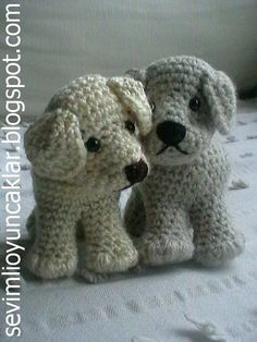 Easy to crochet for little hands :) This listing is for an amigurumi pattern, not the finished toy. The finished dog is approximately 3.5 (9 cm) tall. Crochet pattern in pdf format, written in English, and emailed to you within 24 hours of your payment! Please feel free to