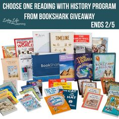 Enter to win your one level of the amazing Reading with History program from BookShark ENDS 2/5/18