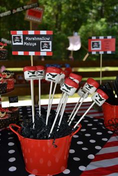 Pirates Birthday Party Ideas | Photo 21 of 76 | Catch My Party