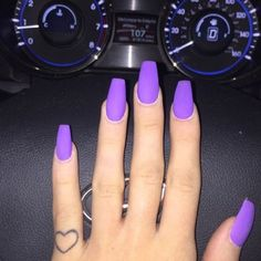 Don't like the long nail just the color