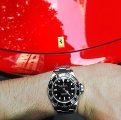 Rolex Feat 458 Italia