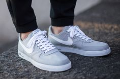 """8e42343bb NIKE AIR FORCE 1 LOW """"WOLF GREY"""" 