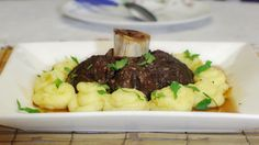 """Osso buco, or ossobuco, literally translates to """"bone hole"""". The dish is made with a cross cut of veal shank that is slow cooked with wine and a variety of herbs and vegetables. Veal is hard to find in the Philippines so I cook osso buco with the best quality beef shank that I can …"""