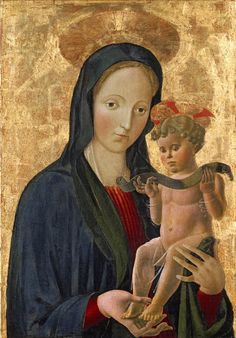 Madonna and Child // 1445 // Artist: Circle of Paolo Ucello