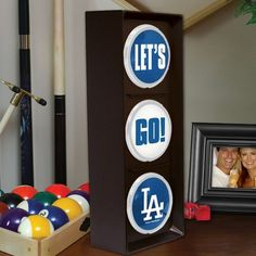 Los Angeles Dodgers Stop and Go Light