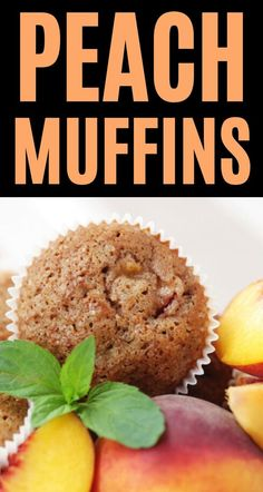 This spiced peach muffins recipe is full of fresh fruit and lots of flavor. These kid-friendly muffins are perfect for even the pickiest eater and freeze well for quick breakfasts.