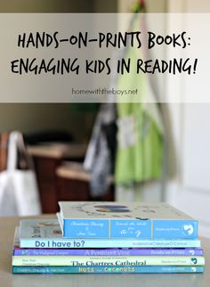 Hands-on-Prints Books - enter to win the book of your choice! #giveaway