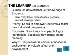 learner centered curriculum essay Excerpt from term paper : learner-centered curriculum' in tesol the most important learning processes in any school anywhere in the world involve the.