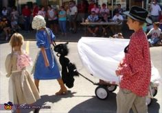 Covered Wagon and Pioneer Homemade Costumes