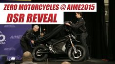 Zero Motorycles Official 2016 DSR Reveal at 2015 AIMExpo