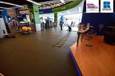 Neoflex 500 Series Rubber Fitness Flooring @ Fitness First, Deira, UAE