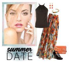 """Smokin' Hot: Summer Date Night - My Style"" by selene-cinzia ❤ liked on Polyvore featuring Chicwish, Michael Kors, MICHAEL Michael Kors, Aerosoles, Barse and summerdatenight"