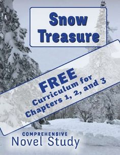 Get worksheets, printables, comprehension questions, higher-level discussion questions, and more for Chapters 1, 2, and 3 in this novel study of Snow Treasure by Marie McSwigan.The material in this set of reading passages was taken from Kays Simple Literatures comprehensive novel study for Snow Treasure.