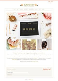 Feminine WordPress themes gallery