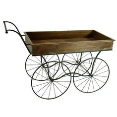 Winward Designs Flower Cart Planter