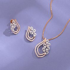 Real Diamond Earrings, Diamond Earing, Diamond Jewellery, Stone Earrings, Diamond Pendant, Jewelry Design Earrings, Necklace Designs, Jewlery, Gold Mangalsutra Designs