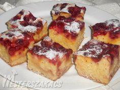 Gyors, túrós-kevert sütemény recept