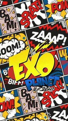#EXO #POWER Lugo Kpop Exo, Exo K, Taemin, K Pop, Kdrama, Exo Stickers, Bff, Power Wallpaper, Kpop Backgrounds