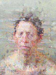 An Extraordinary Studio Artist in a Post-Studio Era Painting People, Figure Painting, Figure Drawing, Painting & Drawing, Portrait Art, Portraits, Portrait Paintings, Portrait Ideas, Beautiful Sketches