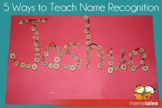 5 Ways to Teach Name Recognition