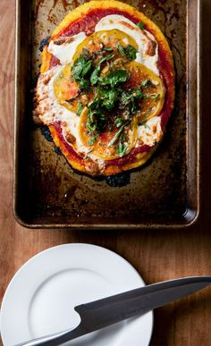 ON THE MENU: HEIRLOOM POLENTA PIZZA | Clementine Daily