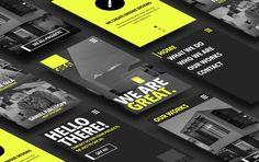 GREAT - Website Design on Behance