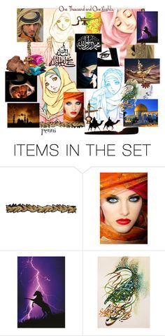 """One thousand and One nights"" by penni-13 ❤ liked on Polyvore featuring art"