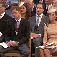 """Boring church service  #funny #princeharry #katemiddleton #royalfamily #royals #royalty #uk #britain #London #l4l"" Photo taken by @theroyaltrionews on Instagram, pinned via the InstaPin iOS App! http://www.instapinapp.com (02/25/2015)"