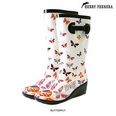 I found this amazing Henry Ferrera Rubber Rain Boots with 2.5 Wedge Heels at nomorerack.com for 69% off. Sign up now and receive 10 dollars off your first purchase