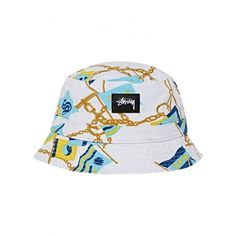 Flags Bucket Hat ($36) ❤ liked on Polyvore