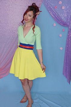 Disney Costumes Mulan inspired Disneybound dress by Lola Nova. Perfect for a Mulan Disneybound outfit! Princess Inspired Outfits, Disney Princess Outfits, Disney Dress Up, Disney Inspired Fashion, Disney Bound Outfits, Disney Fashion, Disney Dresses For Women, Disney Cosplay, Carnival