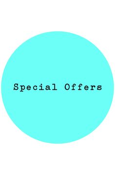 Special #Offers and #Sales