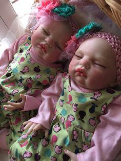 Reborn Doll Twins Sarah and Sylvie